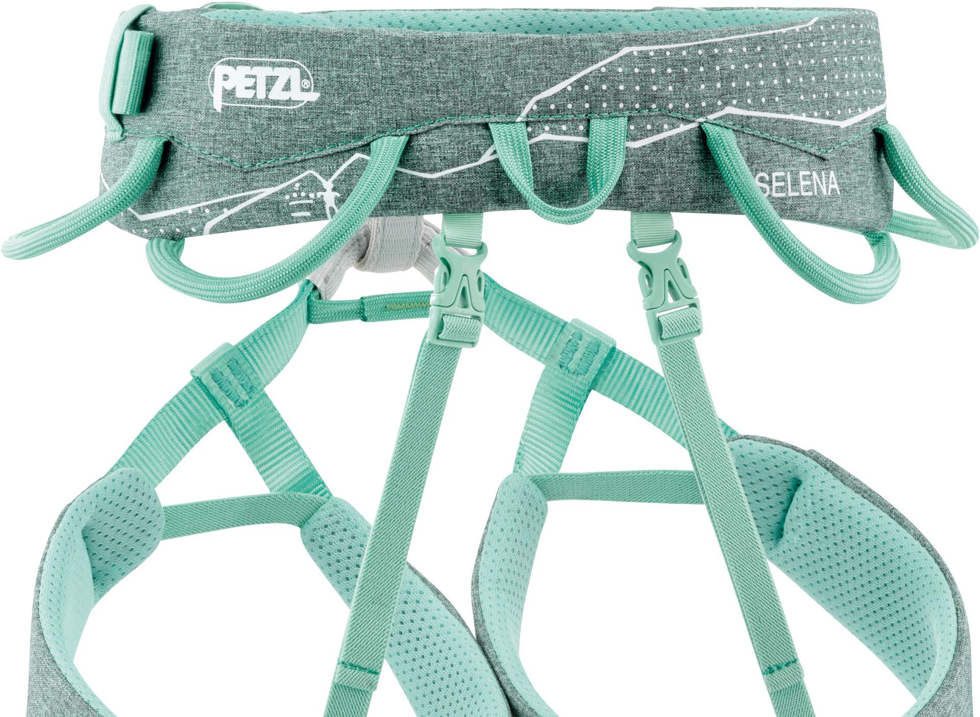Petzl Klettergurt Luna Test : Petzl selena klettergurt damen grün meliert campz